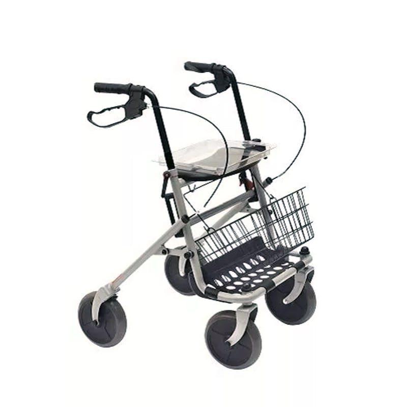 Deambulatore Rollator 2 Ruote Piroettanti - Sanitas