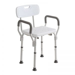 Sedia da Doccia con Braccioli Estraibili Intermed - Sanitas