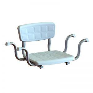 Sedile da Vasca Regolabile con Schienale - Sanitas